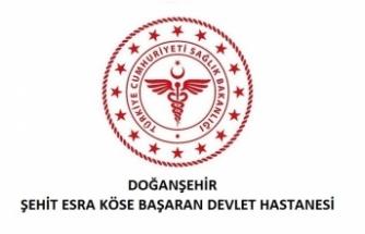 Doğanşehir Şehit Esra Köse Başaran Devlet Hastanesi