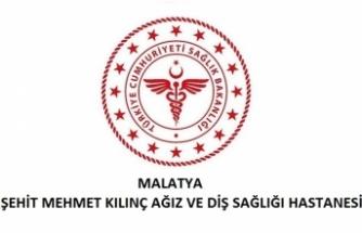 Malatya Şehit Mehmet Kılınç Ağız ve Diş Sağlığı Hastanesi