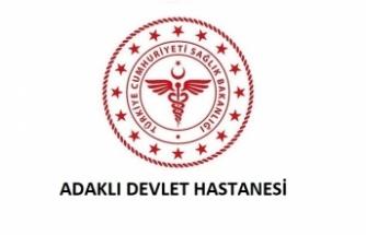 Adaklı Devlet Hastanesi