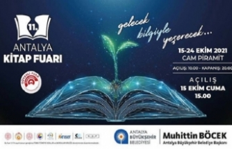 11. Antalya Kitap Fuarı Kapılarını Açıyor