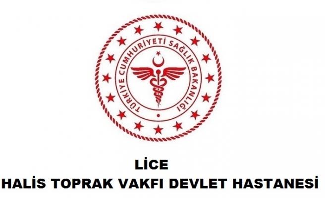 Lice Halis Toprak Vakfı Devlet Hastanesi