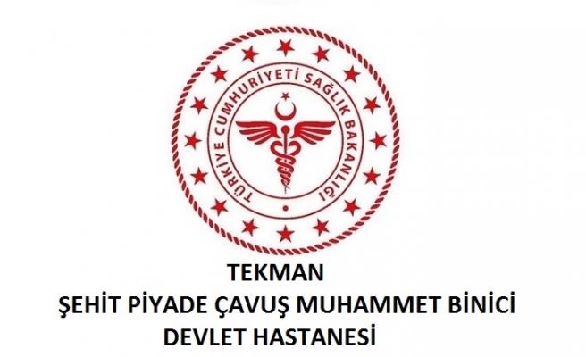 Tekman Şehit Piyade Çavuş Muhammet Binici Devlet Hastanesi