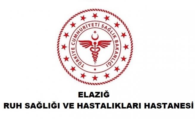 Elazığ Ruh Sağlığı ve Hastalıkları Hastanesi