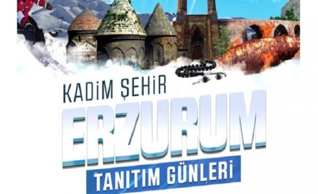 Erzurum Tanıtım Günleri Maltepe Etkinlik Alanında.