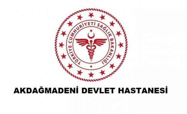 Akdağmadeni Devlet Hastanesi