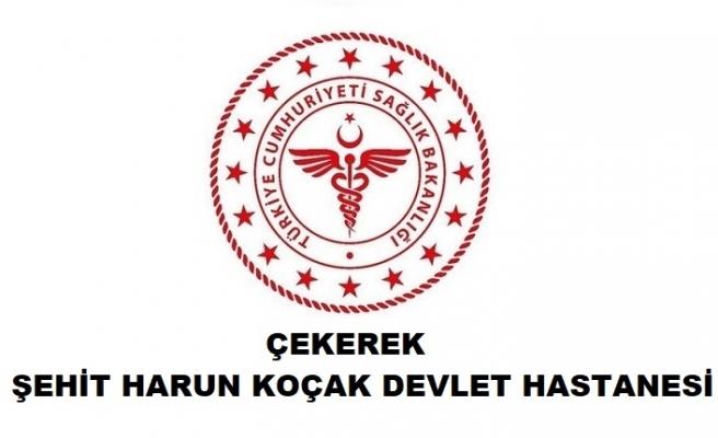 Çekerek Şehit Harun Koçak Devlet Hastanesi