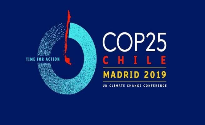 COP 25 İklim Zirvesi Madrid'de başladı