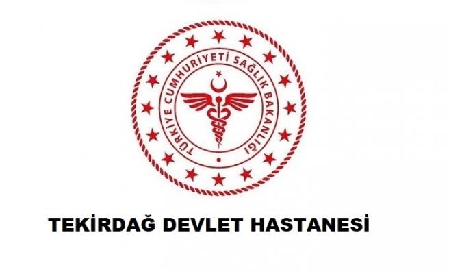 Tekirdağ Devlet Hastanesi