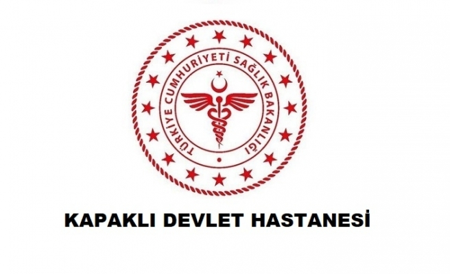 Kapaklı Devlet Hastanesi