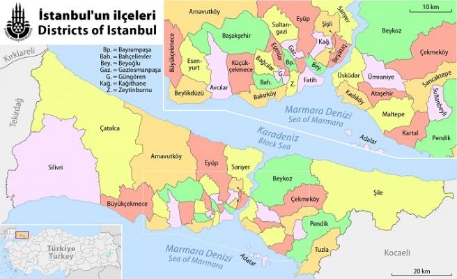 İstanbul ili Adli Yargı Çevresi