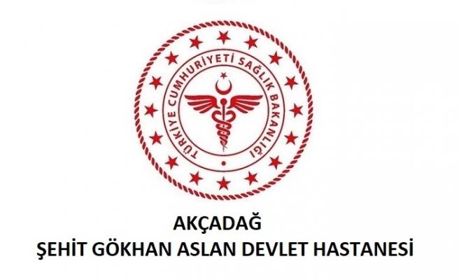 Akçadağ Şehit Gökhan Aslan Devlet Hastanesi