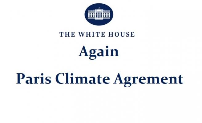 ABD Yeniden Paris İklim Anlaşmasının Tarafı Oldu