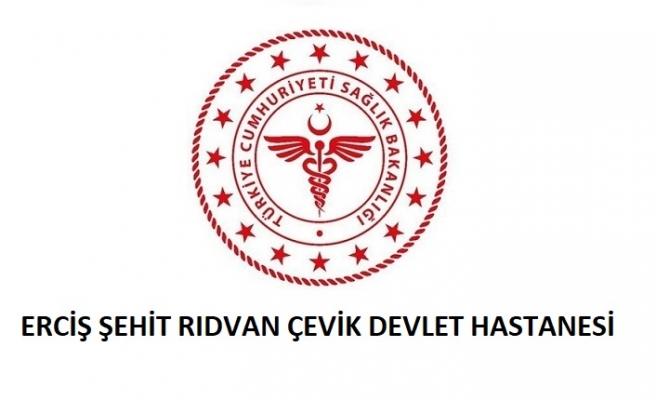 Erciş Şehit Rıdvan Çevik Devlet Hastanesi