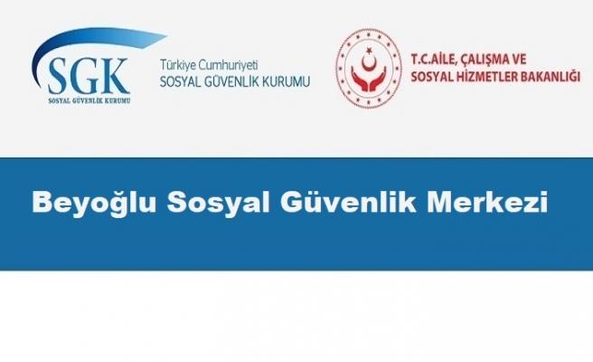 Beyoğlu Sosyal Güvenlik Merkezi