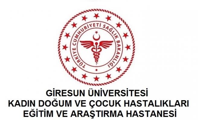 Giresun Üniversitesi Kadın Doğum ve Çocuk Hastalıkları Eğitim ve Araştırma Hastanesi