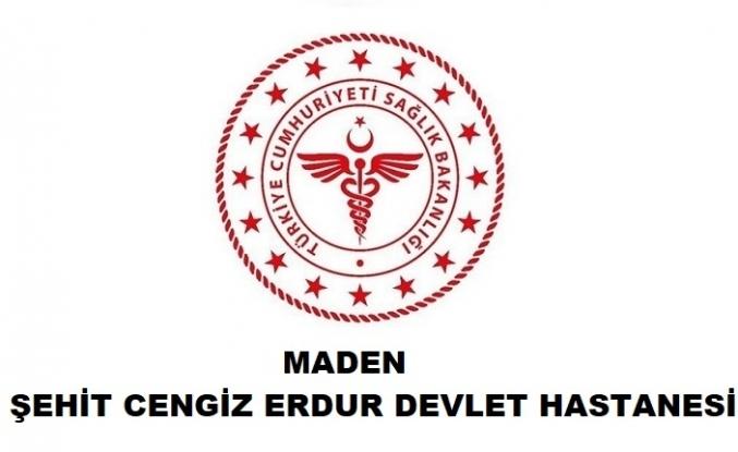 Maden Şehit Cengiz Erdur Devlet Hastanesi