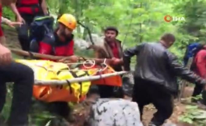Uçuruma Düşen Dağcı'nın Cesedine Ulaşıldı