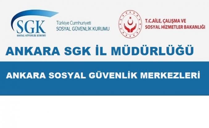 SGK Ankara İlçe Müdürlükleri