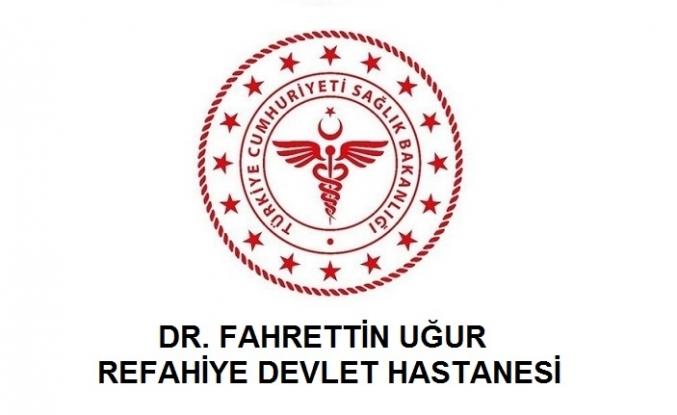 Dr. Fahrettin Uğur Refahiye Devlet Hastanesi
