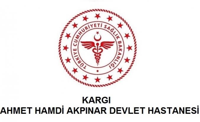 Kargı Ahmet Hamdi Akpınar Devlet Hastanesi