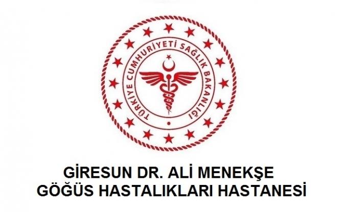 Giresun Dr. Ali Menekşe Göğüs Hastalıkları Hastanesi