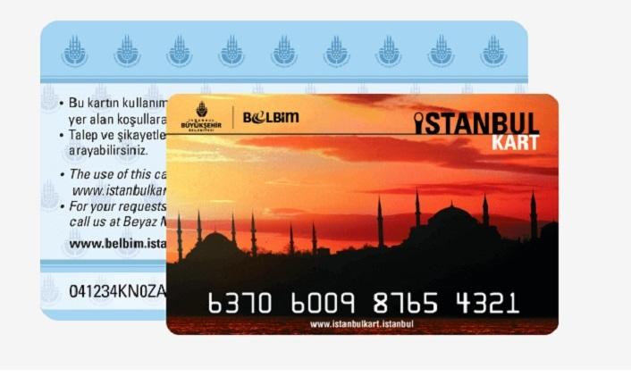 İstanbulkart Numarası Öğrenme